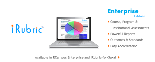 Irubric For Sakai Rcampus Open Tools For Open Minds
