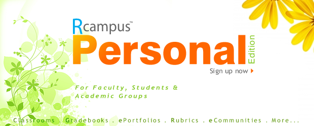 RCampus Personal - Sign up now