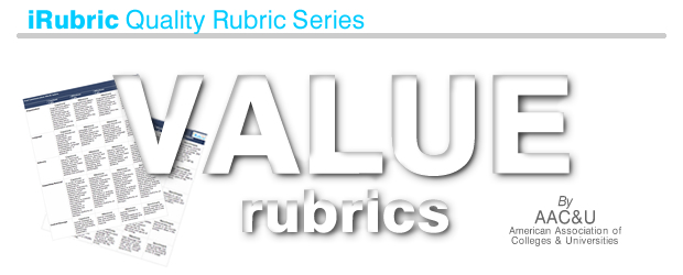 VALUE Rubrics by AAC&U